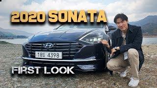 2020 Hyundai Sonata   First Look! Brand New 8th Generation Sonata From Hyundai