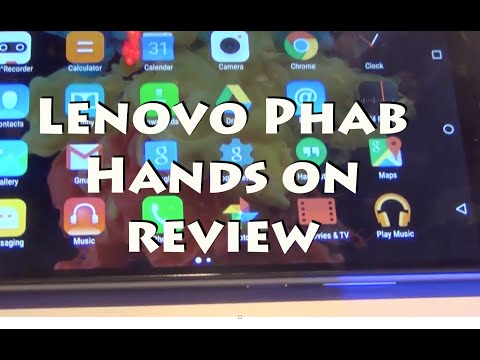 Lenovo Phab Hands on Review