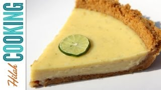 Homemade Key Lime Pie (Traditional Recipe) | Hilah Cooking