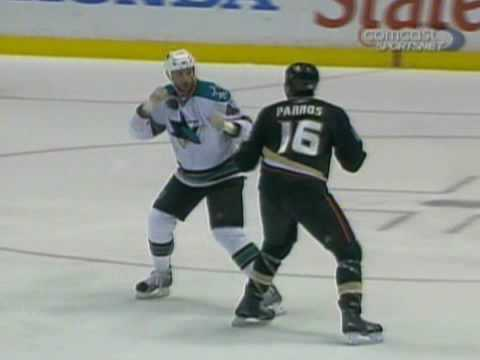Jody Shelley vs George Parros