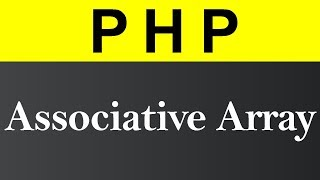 Associative Array in PHP (Hindi)