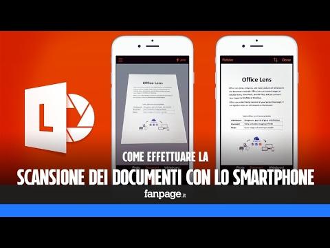 Effettuare la scansione dei documenti con lo smartphone e salvarli (anche) in PDF