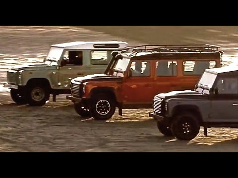 Land Rover Defender 2015 Final Editions: Heritage / Adventure / Autobiography CARJAM TV  2015