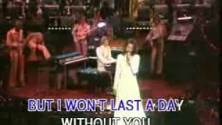 The Carpenters - I Won't Last A Day Without You
