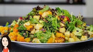 Baked Roast Vegetable Salad + Guest Chef + How to Use a Knife!