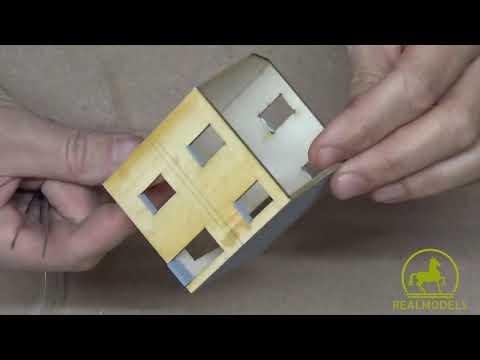 Costruzione del nostro kit in scala H0 di edificio italiano