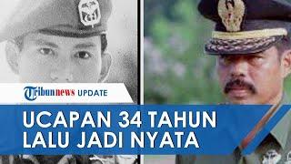 Kisah Unik Disampaikan Sintong Panjaitan 34 Tahun Lalu, Sebut Prabowo Jadi Menhan Kini Kenyataan