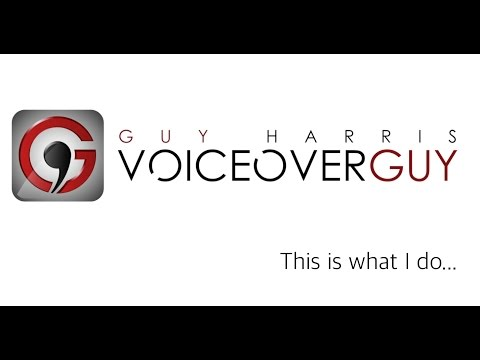Voiceover Guy Harris Voiceover Studio Finder