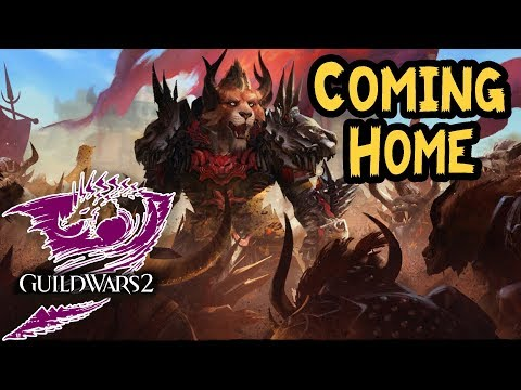 Guild Wars 2 - Coming Home [#206] Lore Gameplay česky | The Icebrood Saga
