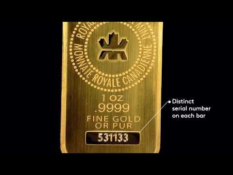 how to buy a gold bar in canada