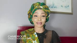 Up Close with Angele Kossinda Miss Universe Cameroon 2020