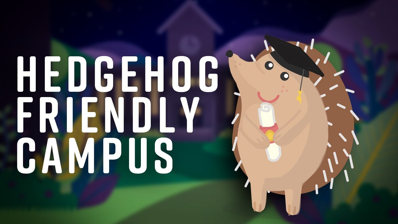 What is a Hedgehog Friendly Campus video