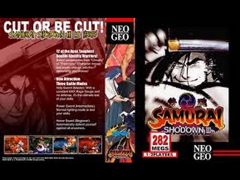 samurai shodown 3 neo geo cd rom
