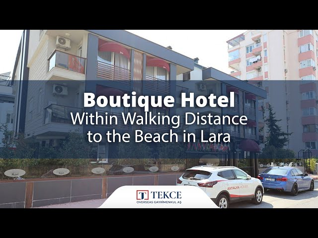 Luxurious Investment Apart Hotel For Sale in Antalya Lara