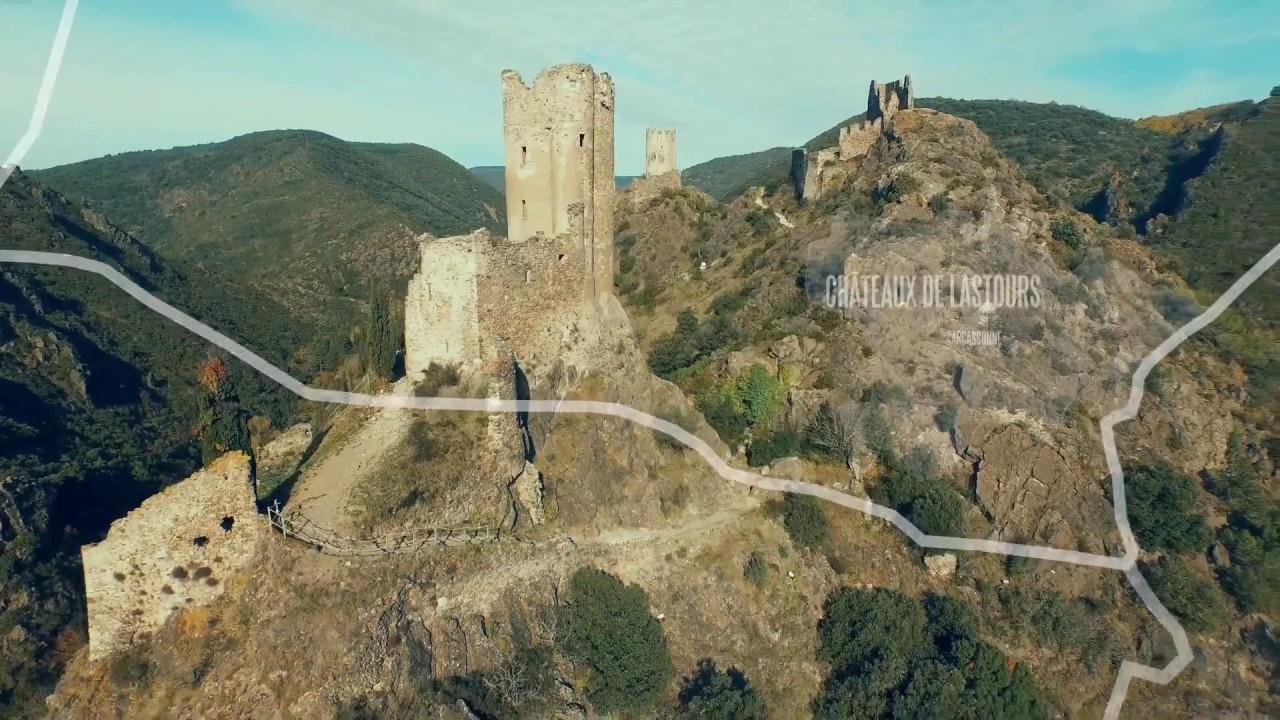 Châteaux de Lastours - Pays Cathare, 21 sites d'exception