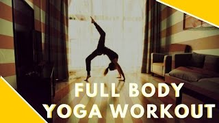 Yoga Challenge 2017. Easy dynamic yoga for beginners. Total body workout. Basic yoga class!