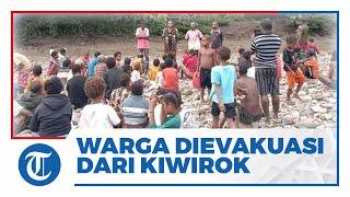 Buntut Penyerangan KKB Papua, Puluhan Warga Dievakuasi dari Distrik Kiwirok