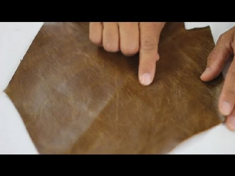 Video How to Care for Oiled Leather : Leather Care