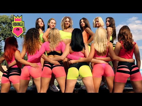 Twerk On The Beach 360 Vr Video • Sofia Reyes 1 2 3 • Тверк на пляже в 360 Градусов Vrkings