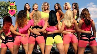 TWERK ON THE BEACH 360 VR Video • SOFIA REYES   1, 2 ,3 • Тверк на пляже в 360 Градусов (#VRKINGS)