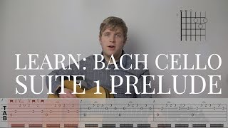 LEARN: Bach Cello Suite 1 Prelude for Guitar (BWV1007)