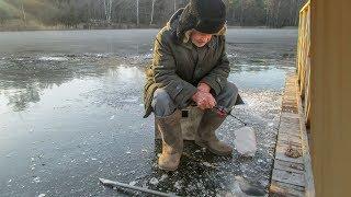 Рыбалка на озере астраханка