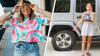 Rylan's New JOB + Bailey Gets a FLAT TIRE?? | Behind The Braids Ep. 124