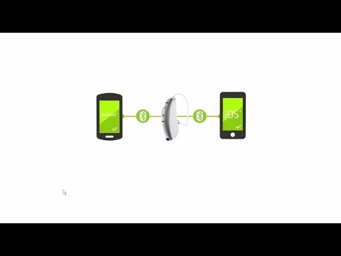 Video infographic: Phonak Audéo™ B-Direct hearing aids with direct connectivity