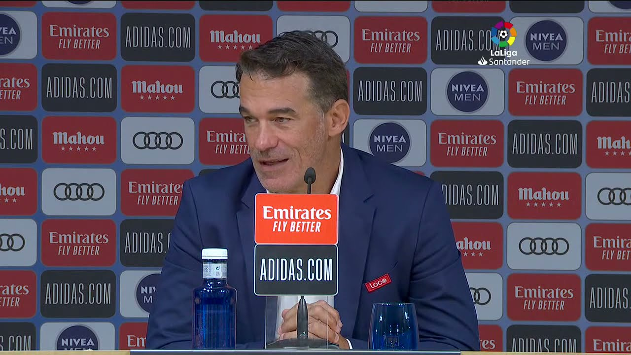 Rueda de prensa Real Madrid vs RCD Mallorca