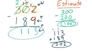 GoMath 4th Grade - 1.6 and 1.7 - Adding and Subtracting Whole Numbers