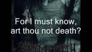 Cradle Of Filth - A Gothic Romance With Lyrics