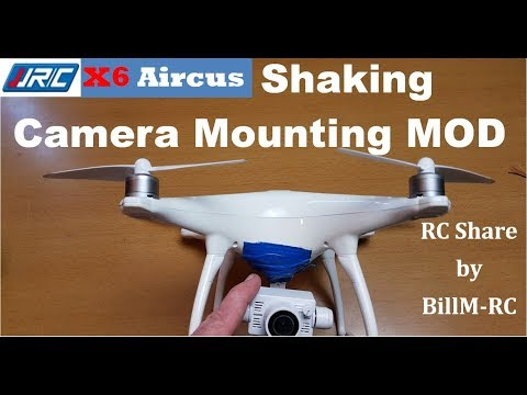 JJRC X6 Aircus review - MOD is to  improve camera gimbal stability