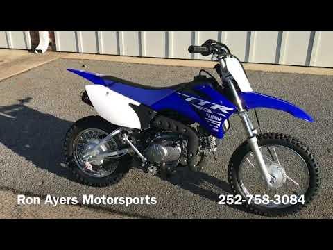 2018 Yamaha TT-R110E in Greenville, North Carolina - Video 1