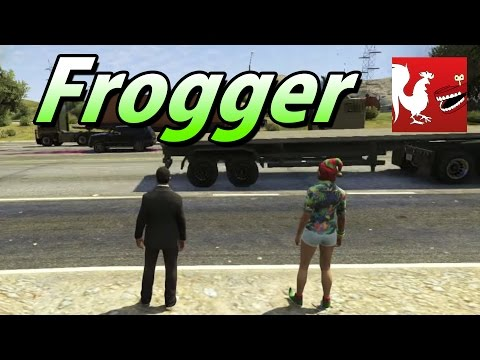Combine Frogger And GTA V For Maximum Death