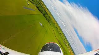 Freewing 90mm F22 flight filmed from DJI Digital FPV system