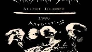 CHRISTIAN DEATH - silent thunder (1986)