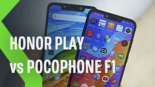 Pocophone f1 vs Honor Play: LUCHA DE TITANES por 329 €