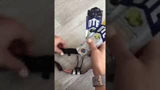 Sport2People Race Belt - How to attach enegy gels on race belt