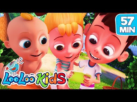 A-Tisket, A-Tasket- The BEST SONGS for Kids | LooLoo Kids