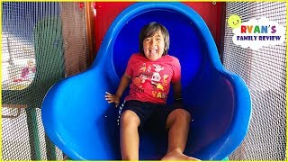 Ryan at Indoor Playground for kids with Surprise toys!!!