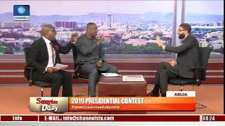 Channels TV Forced To End Their Live TV Programme After Keyamo And Sowunmi, Started