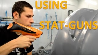 How to use a Stat Gun to remove static from vehicles
