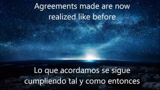 Kitaro / Agreement (Lyrics- Letra) Subtitulado Español- Ingles