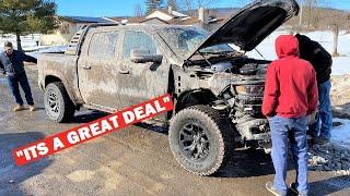 "Redneck Mechanics Buy My DESTROYED Ram TRX to ""Fix it up""..."
