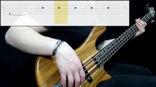 Coheed And Cambria - Atlas (Bass Only) (Play Along Tabs In Video)