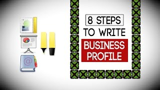 8 Steps to Write a Business Profile - Write Company PROFILE