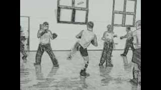 preview picture of video 'CSKB Bagnatica Kickboxing Training session Cartoon mood on'