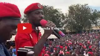 Bobi Wine Asabye Besigye Ne Muntu Bamukilize 2021 | Full Speech In Hoima