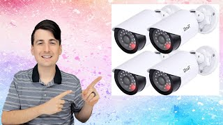 Fake Security Camera With Red Light // BNT Dummy Fake Security Camera