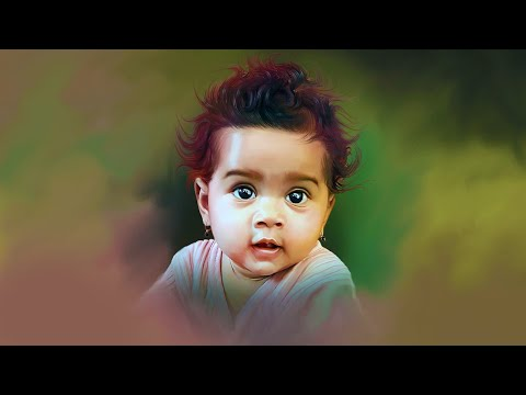 advanced color digital painting tutorial by prashant